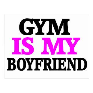 Gym is My BoyFriend Postcard