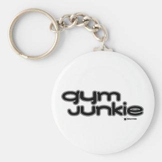 Gym Junkie Keychain