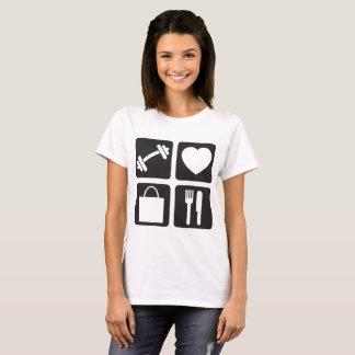 Gym Love Shop Eat Women Racerback Tank Top Shirt C