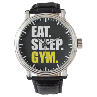 Gym Motivation - Eat, Sleep, Gym Watch