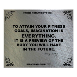 Gym Poster for Fitness Motivation #029