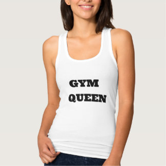 """""""GYM QUEEN"""" Women's Slim Fit Racerback Tank"""