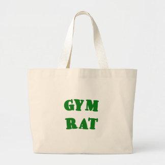 Gym Rat Canvas Bags