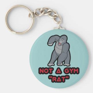 Gym Rat - Gorilla Keychain