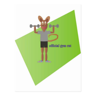 Gym Rat Postcard