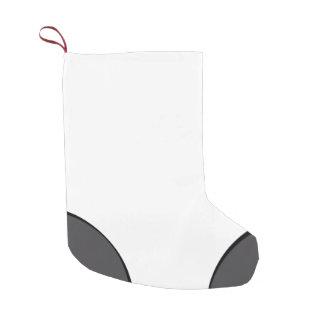 """Gym Sock"" DarkGrey Dot Small Christmas Stocking"