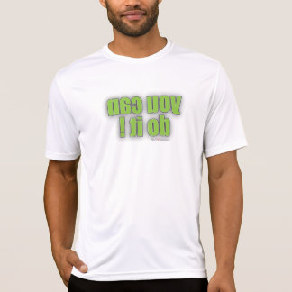 Gym T-Shirt - you can do it mirror image (him)