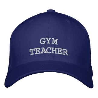 GYM, TEACHER EMBROIDERED HAT