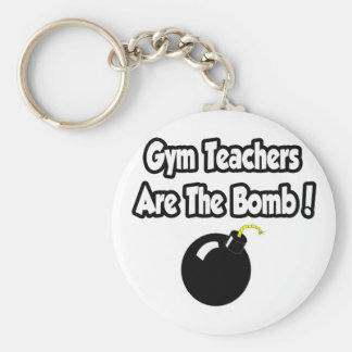 Gym Teachers Are The Bomb! Key Ring