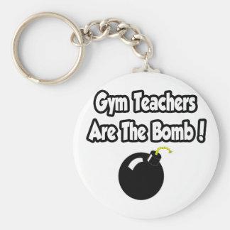 Gym Teachers Are The Bomb! Keychain