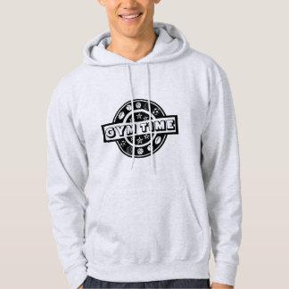 GYM TIME Men's Basic Hooded Sweatshirt
