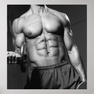 Gym Wall & Health Club Poster #3