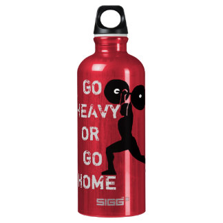 GYM & weightlifting Go Heavy Or Go Home SIGG Traveller 0.6L Water Bottle