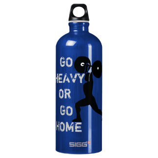GYM & weightlifting Go Heavy Or Go Home SIGG Traveller 1.0L Water Bottle