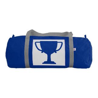 Gym Winner Trophy Award Health Exercise Fitness Gym Duffel Bag
