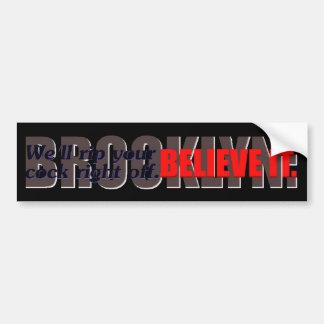 @gymicrae Darkside Brooklyn Bumper Sticker