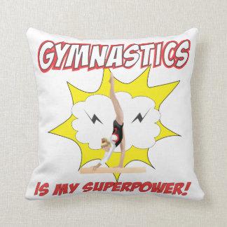 Gymmnastics is my Superpower! Cushion