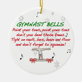 Gymnast Bells Ornament