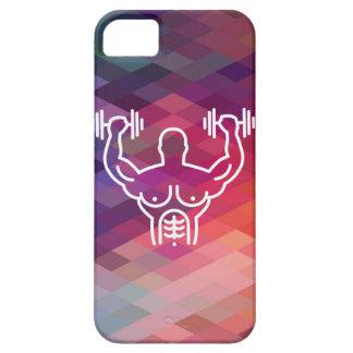 Gymnast Biceps Minimal iPhone 5 Cover