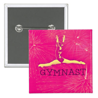 Gymnast Button