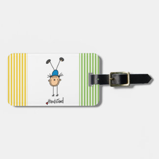 Gymnast Doing Handstands Luggage Tag