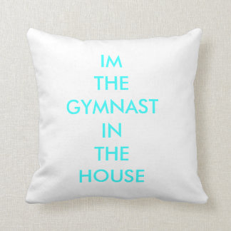 GYMNAST IN THE HOUSE CUSHION