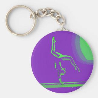 Gymnast key chain