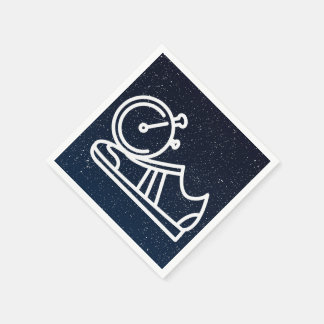 Gymnast Shoes Graphic Disposable Napkin