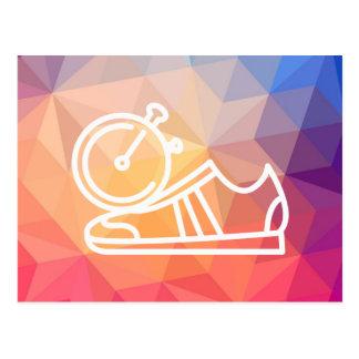 Gymnast Shoes Graphic Postcard