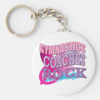 Gymnastic Coaches Gifts from Gymnasts Key Ring