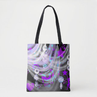Gymnastic Gem Designer Tote Bag