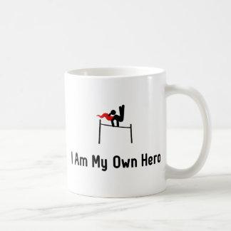 Gymnastic Horizontal Bar Hero Basic White Mug