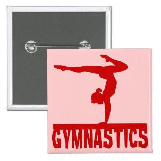 Gymnastics 15 Cm Square Badge