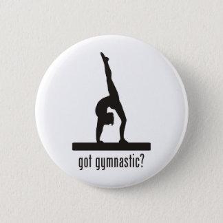 Gymnastics 6 Cm Round Badge