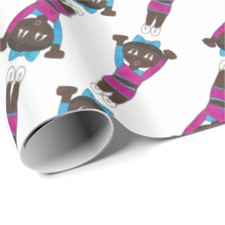 Gymnastics Acrobatics Tumbling Dance Studio Acro Wrapping Paper