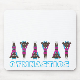 Gymnastics Acrobatics Tumbling Dance Studio Gym Mouse Pad