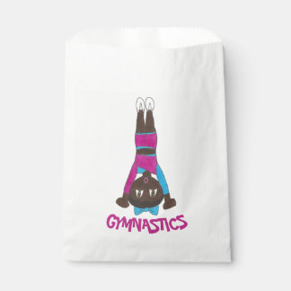 Gymnastics Acrobatics Tumbling Handstand Gymnast Favour Bag