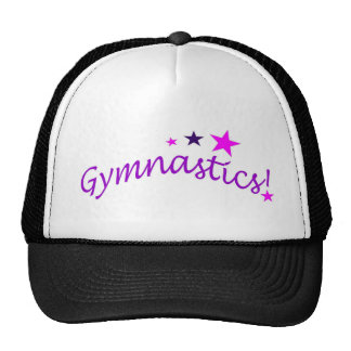 Gymnastics Arched with Stars Cap