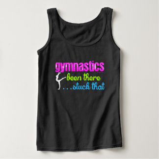 Gymnastics - Been there stuck that.... Basic Tank Top