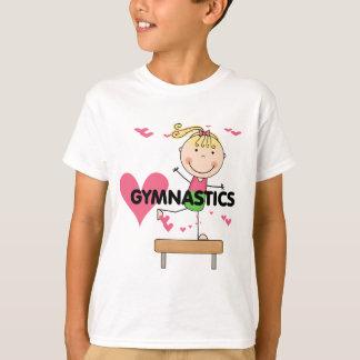 GYMNASTICS - Blonde Girl Balance Beam Tshirts