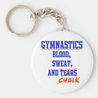 Gymnastics BS&C Basic Round Button Key Ring