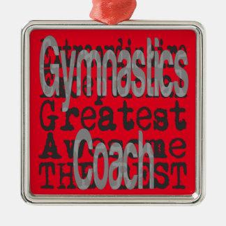 Gymnastics Coach Extraordinaire Metal Ornament