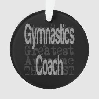 Gymnastics Coach Extraordinaire Ornament