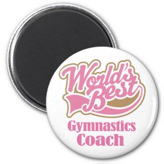 Gymnastics Coach Gift Refrigerator Magnet