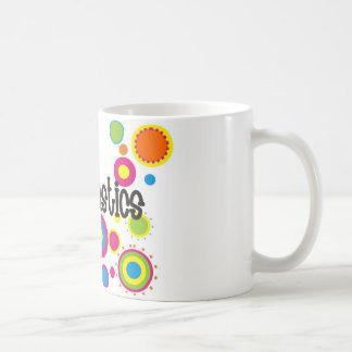 Gymnastics Cool Polka Dots Coffee Mug