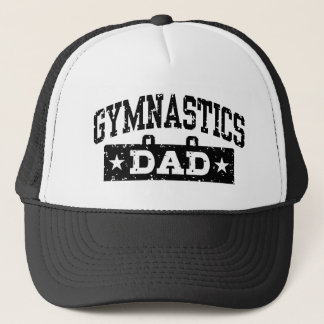 Gymnastics Dad Trucker Hat