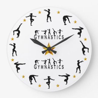 Gymnastics - Female Large Clock