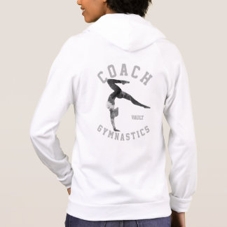 gymnastics Floor Coaches jacket - in white