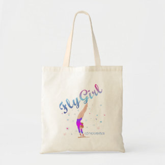 Gymnastics - Fly Girl Tote Bag