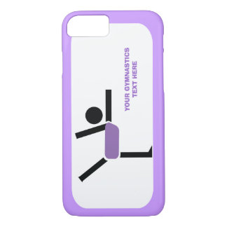 Gymnastics gifts, gymnastics performer custom iPhone 8/7 case